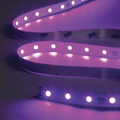 Led tape colour change purple