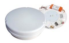 IP65 3hr Emergency Maintained LED Bulkhead With Microwave Sensor