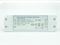 24V 25W Mains Dimmable LED Driver (Constant Voltage)