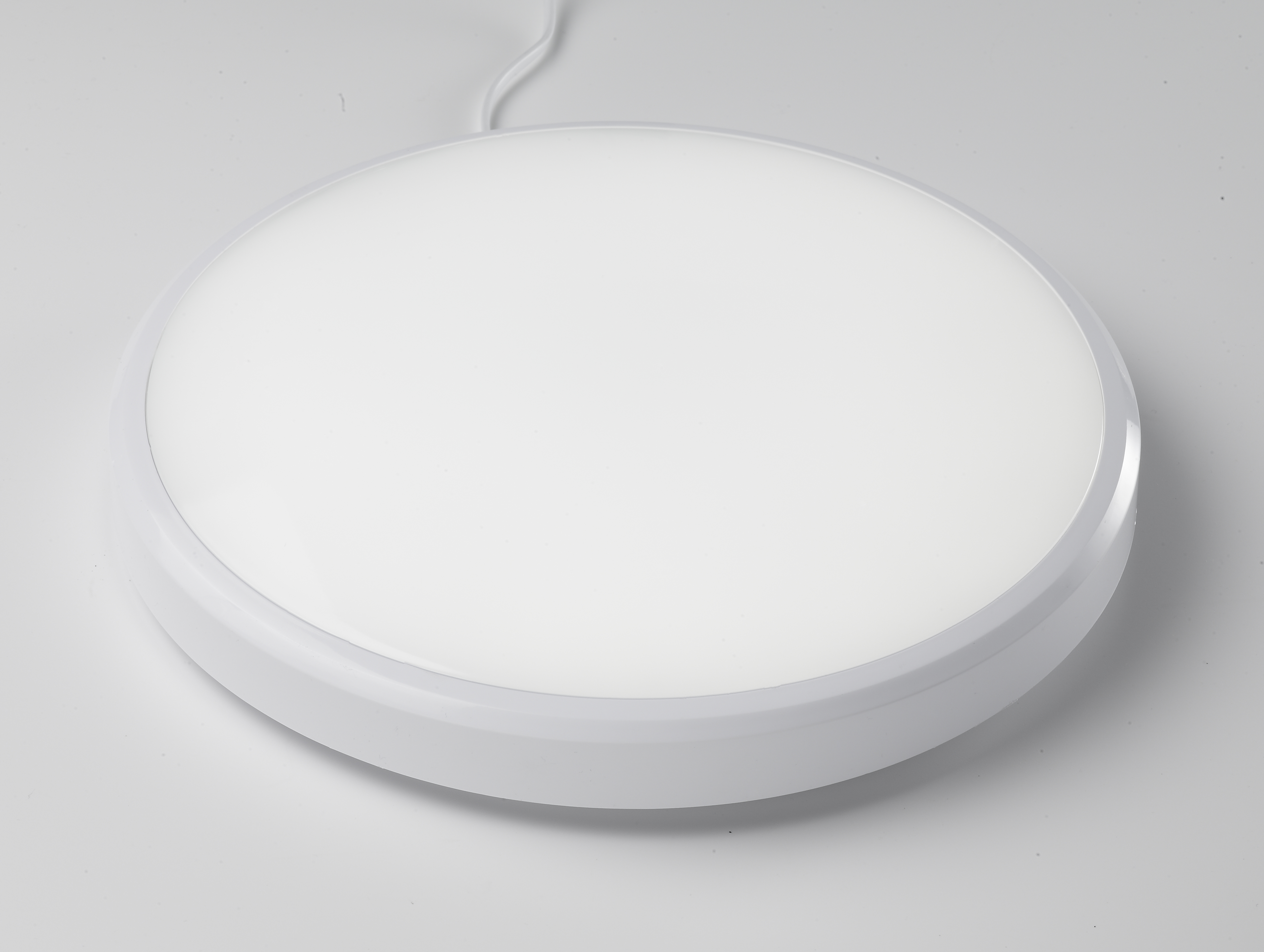 Firstlight Slimline Led Bathroom Wall Light In White: 18W LED Slim Ceiling/Wall Light