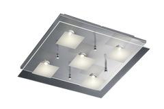 Square LED Glass Ceiling Light