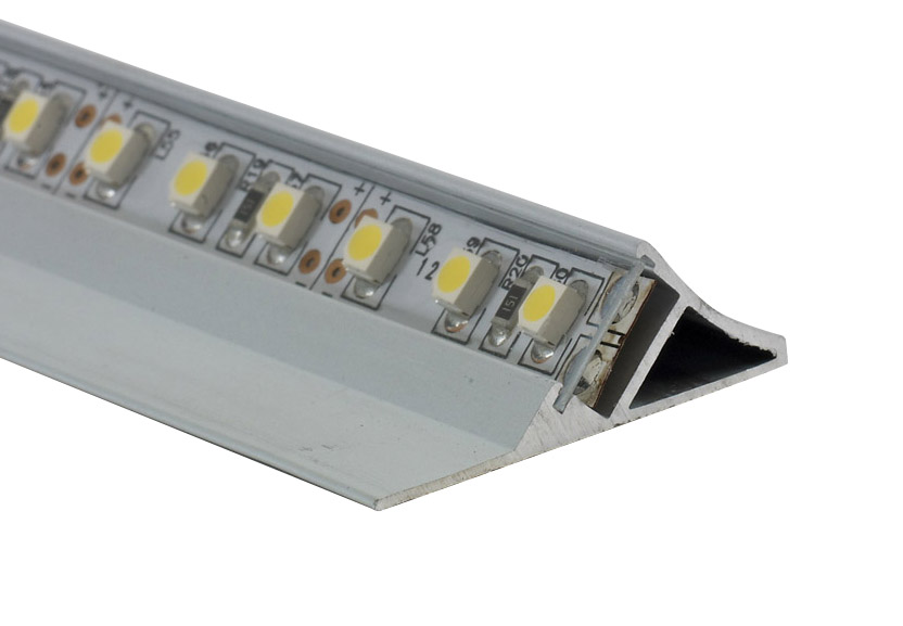 Surface Mounted Angled Led Profile Eld Leading Lighting