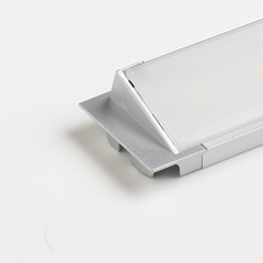 Semi Recessed Angled LED Profile